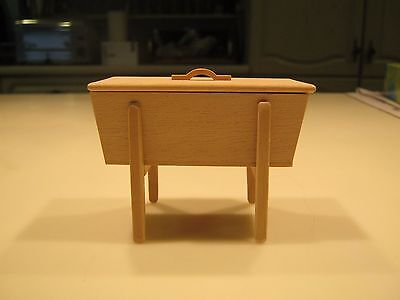 Colonial Dough Box circa 1800 1/12th Scale. New.