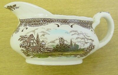 Gravy boat - Scenes after Constable - WH Grindley - good condition.