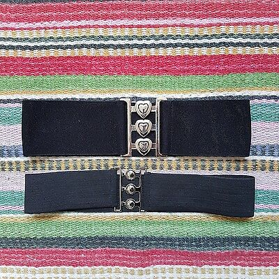 rockabilly pin up belt, 2 piece, excellent condition