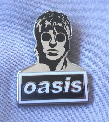 Oasis 'Liam' enamel badge. Liam Gallagher,Noel,Mod,B​eady Eye, Pretty Green.