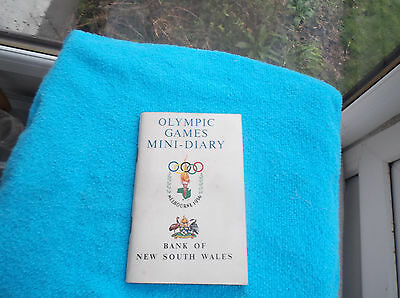 Olympic Games Diary, Melbourne, ( 1956 ).