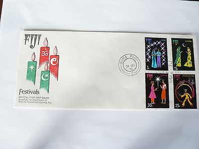 Fiji First Day Cover Festival of Joy 1975
