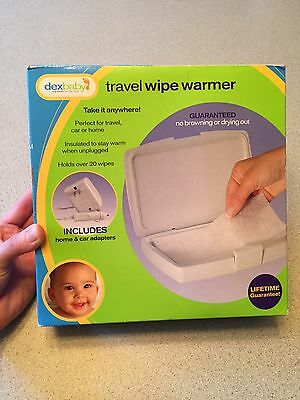 Travel wipe Warmer Dexbaby NIB