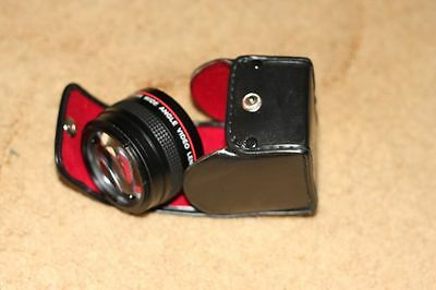 Vivitar 0.5X Wide Angle Video Lens Multicoated in Original Pouch