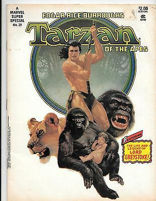 Marvel Super Special Magazine 29,  Tarzan of the Apes Reader G , 1983