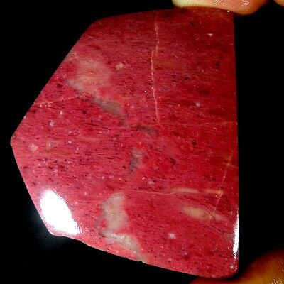219.95Ct.100%natural Awesome Pink Calcite Rock Slab Polished Rough Specimen