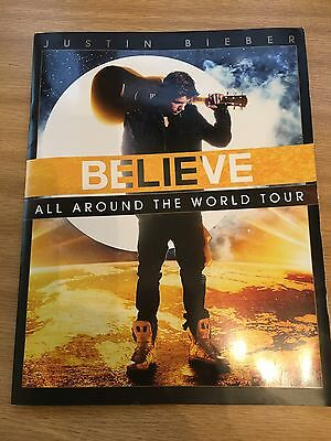 Justin Bieber Believe All Around The World Tour Programme