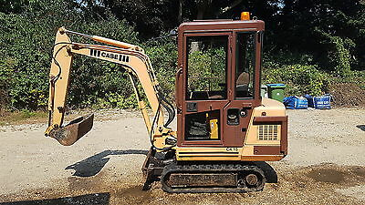 1.5 tonne Case/Kubota mini digger 360 tracks excavator Sussex
