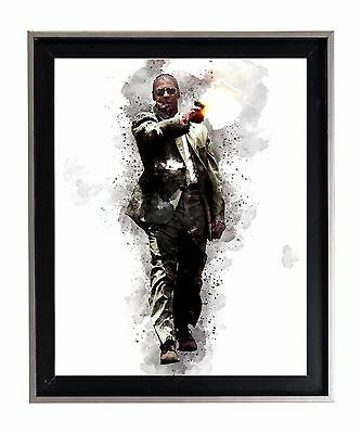 Man On Fire Denzel Washington poster print matte oil painting rad dope movie