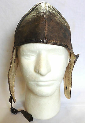 WW1 Original German Air Force Leather Flying Helmet