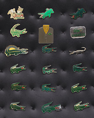 Lot De 18 Pins Pin's Crocodile Style Lacoste Tennis Polo +++++++++++++++++++++++