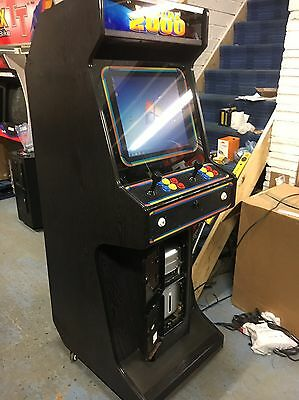 Original 1980s Leisure 2000 MAME Arcade Cabinet 6 Button 2 Player