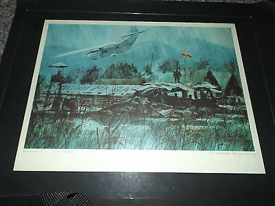 Usaf Art Collection # 70 Monsoon Airlift Print  Collin Campbell