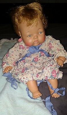 Vintage 14' Ideal Thumbelina Doll Adorable ~ Free Shipping