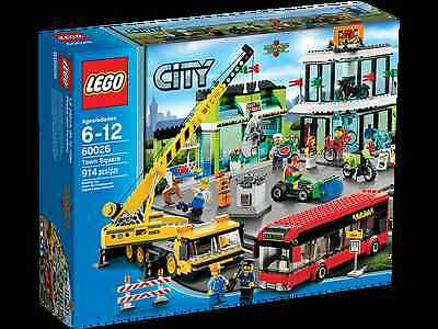 ◄ Lego City 60026 Town Square Rare - Misb - Neuf ►