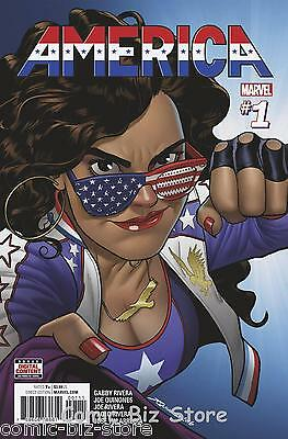 America #1 (2017) 1St Printing Bagged & Boarded