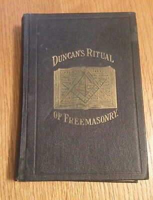 Duncan's Ritual of Freemasonry Hard Cover 3rd Edition Additions & Corrections