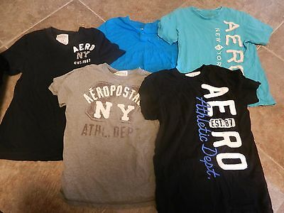 Lot of 5 men's size small T-shirts from Aeropostale