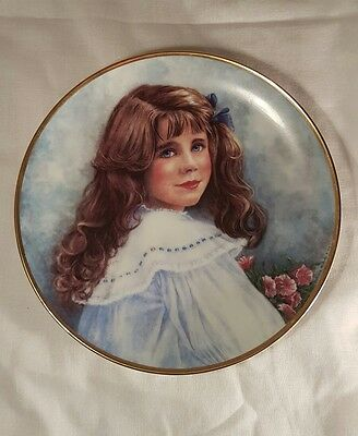 Franklin Mint Plate Lady Elizabeth The Queen Mother as a Child Limited Edition