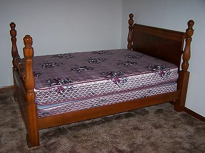 Antique Bedroom Suite with Full Size Bed - 1948 - Art Deco ***PRICE REDUCED***
