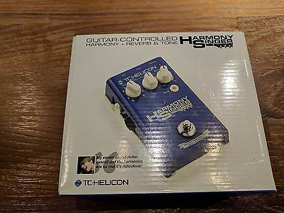 TC Helicon Harmony Singer Voice Pedal Vocal Effects