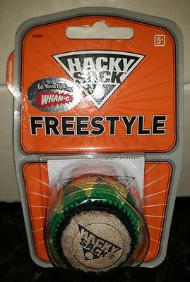 Hacky Sack Wham-O Freestyle *New and unopened* Jamaican colours. Hard to find.