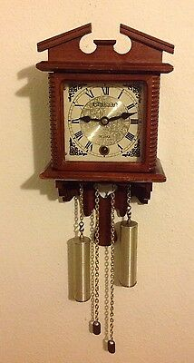 Small Vintage 31Day Striking Wall Clock for Spares/Repair