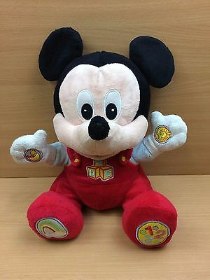"Official Disney Singing and Talking Plush Toy Fully Tested 12"" Tall"