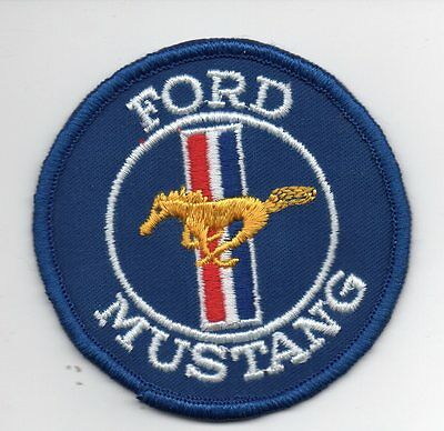 FORD MUSTANG Round Patch