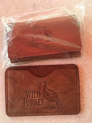 Wild Turkey,Leather Key Wallet and Card Holder