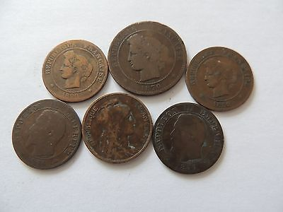 COLLECTION / BULK LOT OF FRANCE COINS - Ref 189