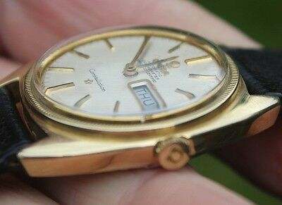 Vintage Omega Constellation Chronograph Day Date Watch Automatic
