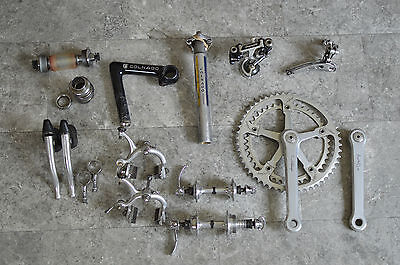 Vintage Campagnolo Nuovo Record / Super Record Colnago Pantograph Groupset