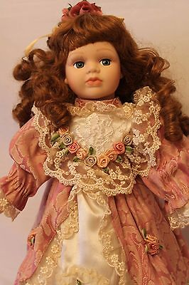 "16"" Seymour Mann Doll  Porcelain/Cloth  The Connoisseur Doll Collection"