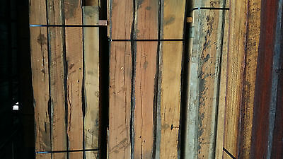 Recycled timber posts
