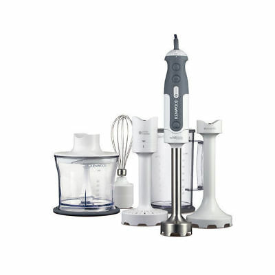 Kenwood HDP406WH Triblade Hand Blender Stick Mixer with Attachments