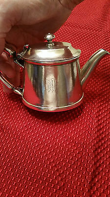 Antique Christofle Silver-Plate French Teapot