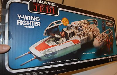 Star Wars Hasbro Vintage Collection Y-wing fighter vehicle ToysRus exclusive