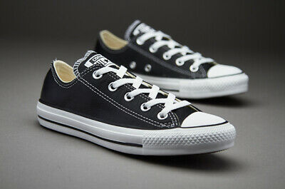 Converse Chuck Taylor Star Black White Ox Top Skate Mens Womens Shoes Sizes