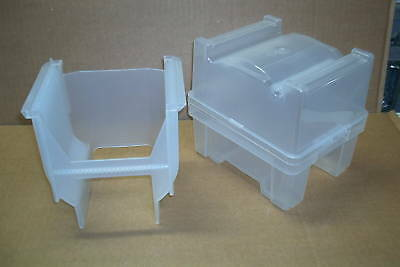Lot of 4 Empak Entegris PH9150 UltraPak 150MM X9150 Wafer Carriers Cassettes