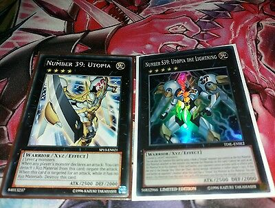 Number S39: Utopia The Lightning TDIL-ENSE2 Super Rare NM Utopia Package