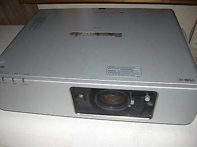 PANASONIC F100NT WIRELESS LCD PROJECTOR USED 1241h LAMP HOURS