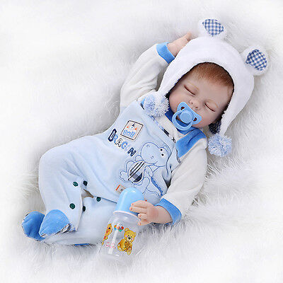 """20""""-22"""" Newborn Baby Clothes Reborn Doll Clothes Replace Accessory Supply Suit"""