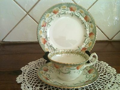 Samuel Radford Antique Trio Cup Saucer Plate Great Condition Collectable