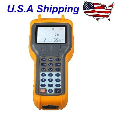 RY-S110  RY S110 CATV Cable TV Handle Digital Signal Level Meter DB Tester