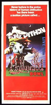 MONTY PYTHON Live at the Hollywood Bowl 1982 JOHN CLEESE Daybill Movie Poster