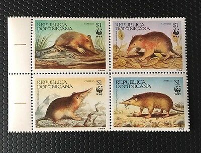 Dominican Republic Stamps 1158a-d Block MNH