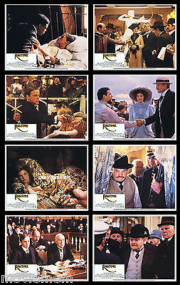RAGTIME Rare LOBBY CARD SET Mary Steenburgen JAMES CAGNEY Brad Dourif