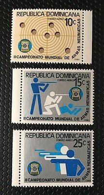 Dominican Republic Stamps C338-C340 MNH