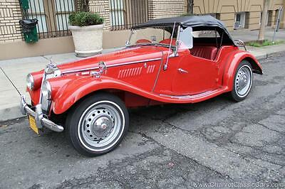 1955 MG T-Series TF 1955 MG TF 1500 - LHD - Restored - Excellent! See VIDEO